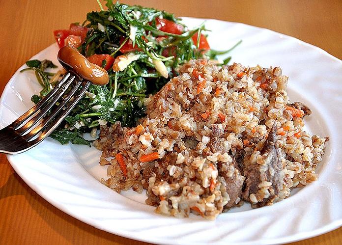 каша гречневая с мясом рецепт