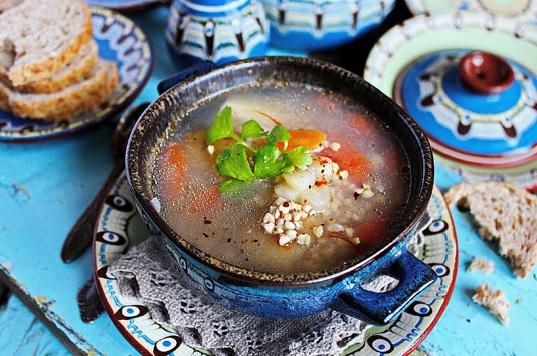 Суп гречневый: рецепт диетического супа и рецепт с мясом