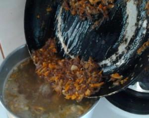 гречневый суп с тушенкой рецепт с фото 6