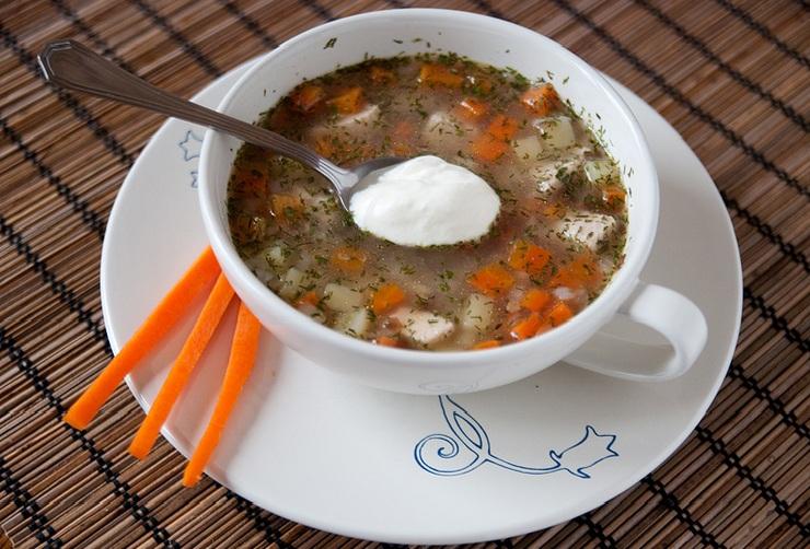 суп гречневый с мясом рецепт фото