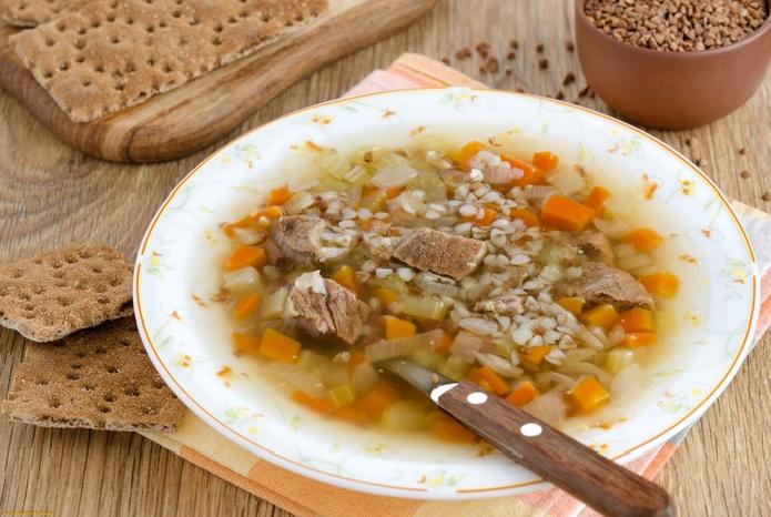 суп из гречки фото