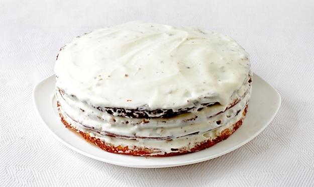 Торт сметанник классический рецепт с пошагово со сметанным