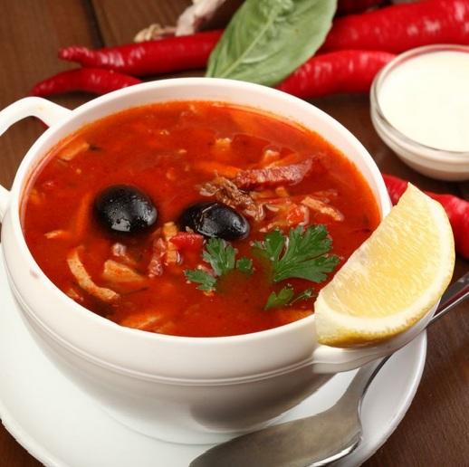 рецепт с фото суп солянка сборная мясная рецепт