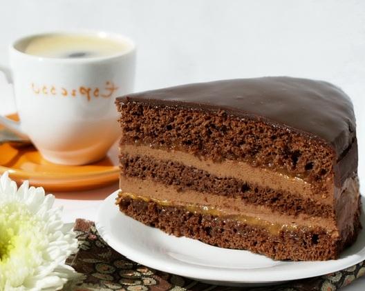 торт шоколадный рецепт с фото пошагово с заварным кремом