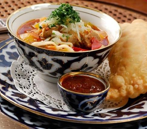 лагман рецепт узбекский с фото пошагово