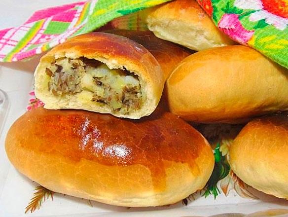 пирожки с картошкой в духовке пошагово рецепт с фото