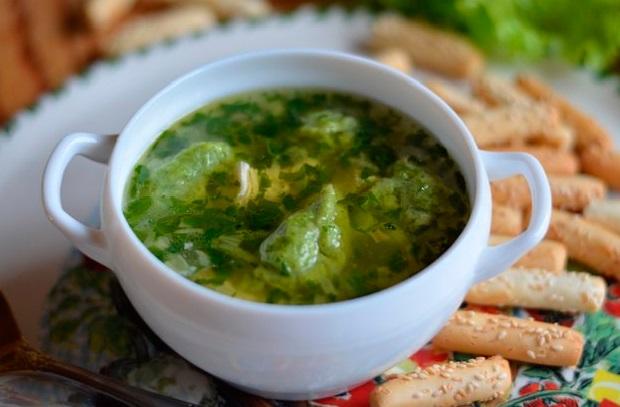 приготовление супов с галушками рецепты