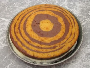 Торт зебра, рецепт с фото пошагово в домашних условиях