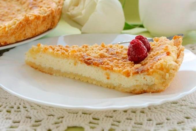 Пирог в духовке с вареньем клубничным рецепт с фото